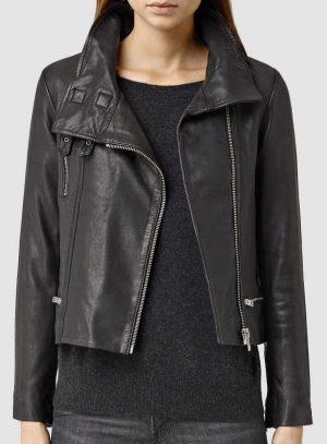 women black leather jacket, trending women black leather jacket,