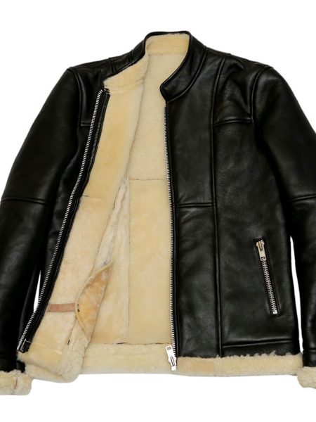 men b3 bomber black jacket, men b3 bomber biker leather jacket,