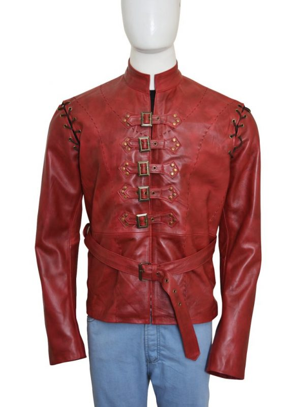 game of thrones red leather jacket, game of thrones lannister jacket,