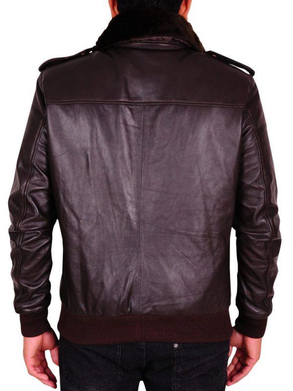 men dark brown leather jacket, fashionable men brown leather jacket,