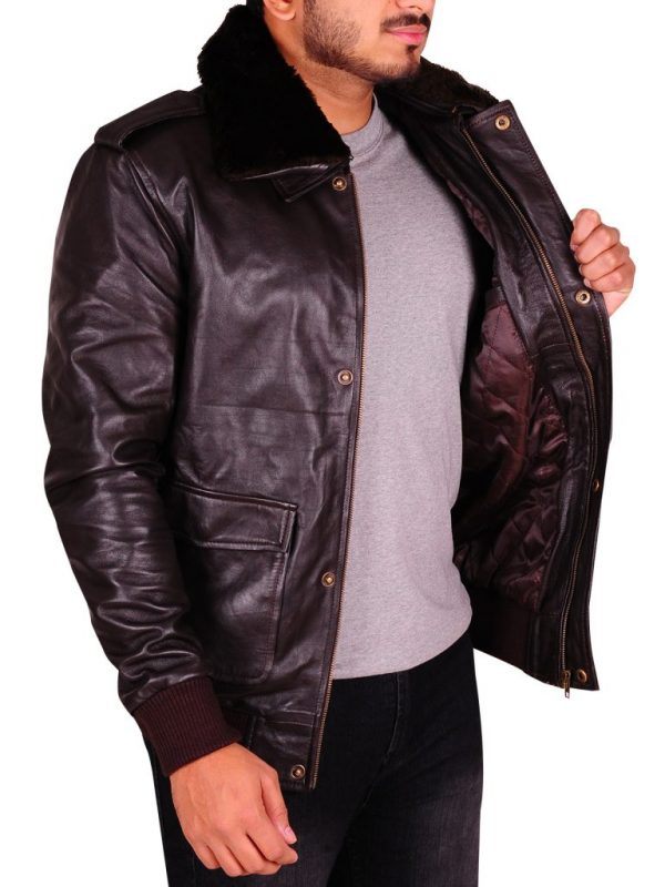 mauvetree brown leather jacket, mauvetree brown leather jacket for men,