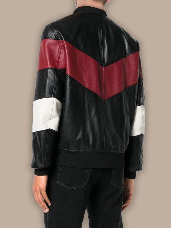 trending chevron bomber jacket for men