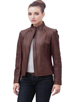 trending women brown jacket
