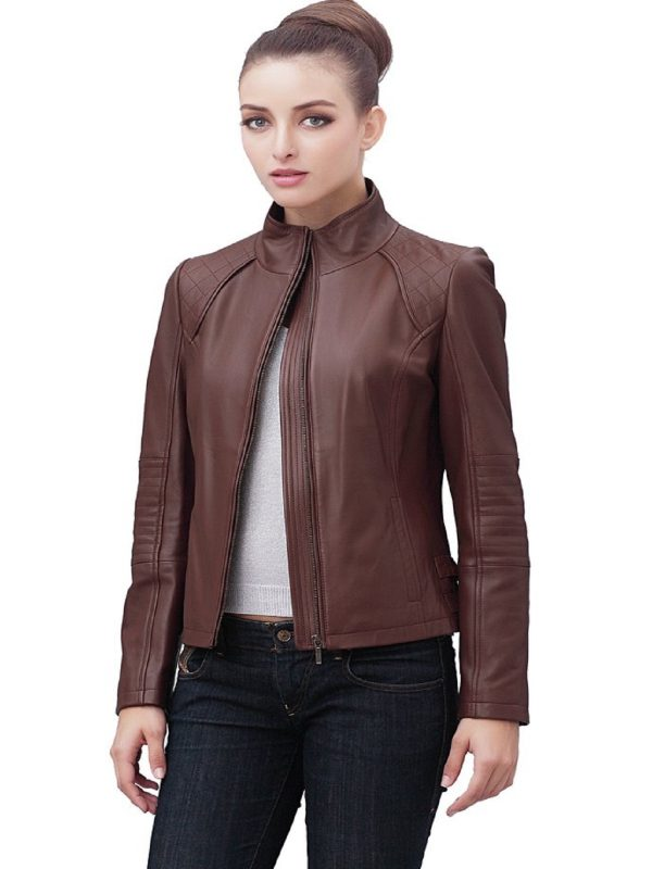 trending women brown jacket