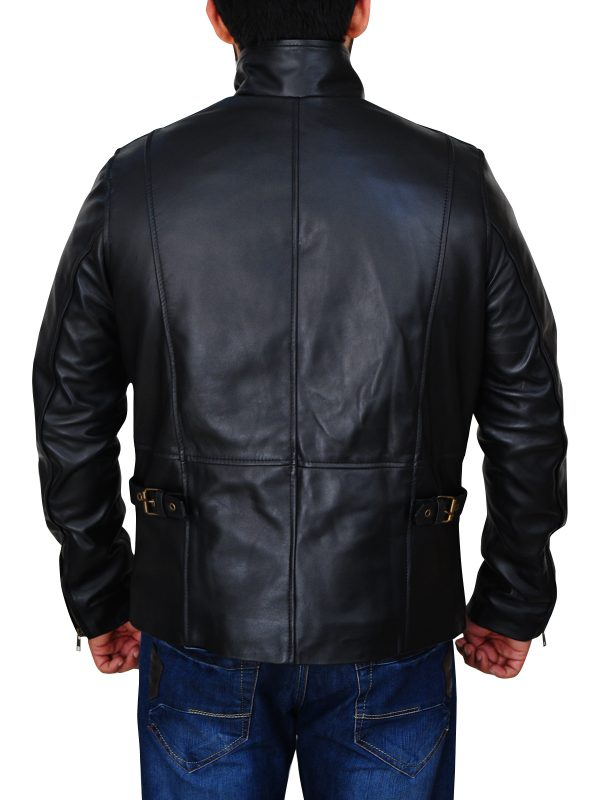 vin diesel black leather jacket, black leather jacket vin diesel,
