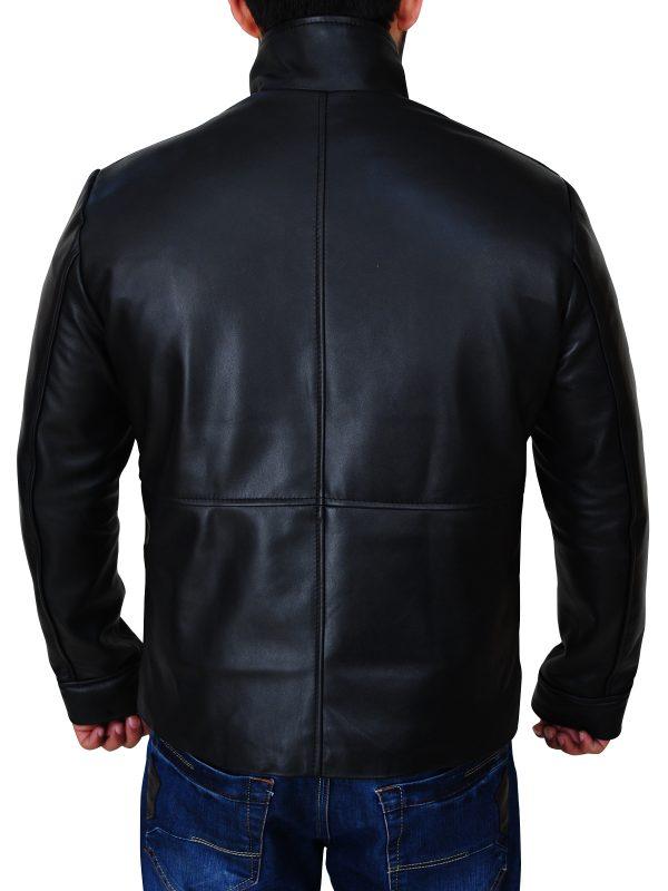 fashionable jacket, black men jacket,
