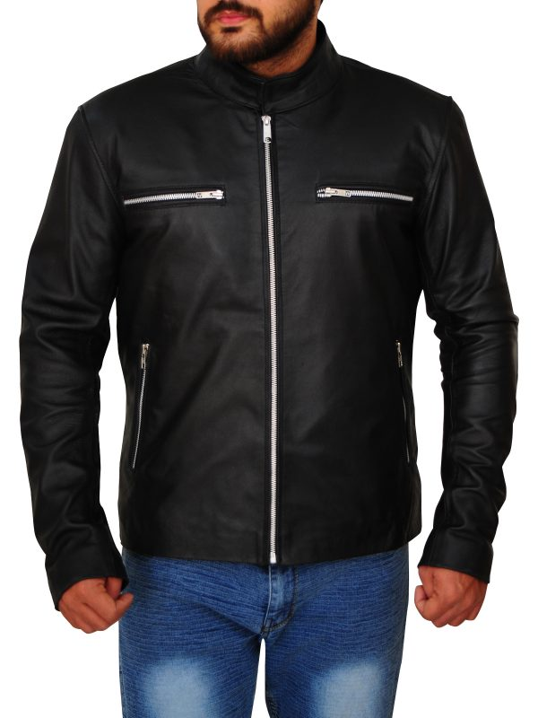 trending black leather jacket, black leather jacket trends,