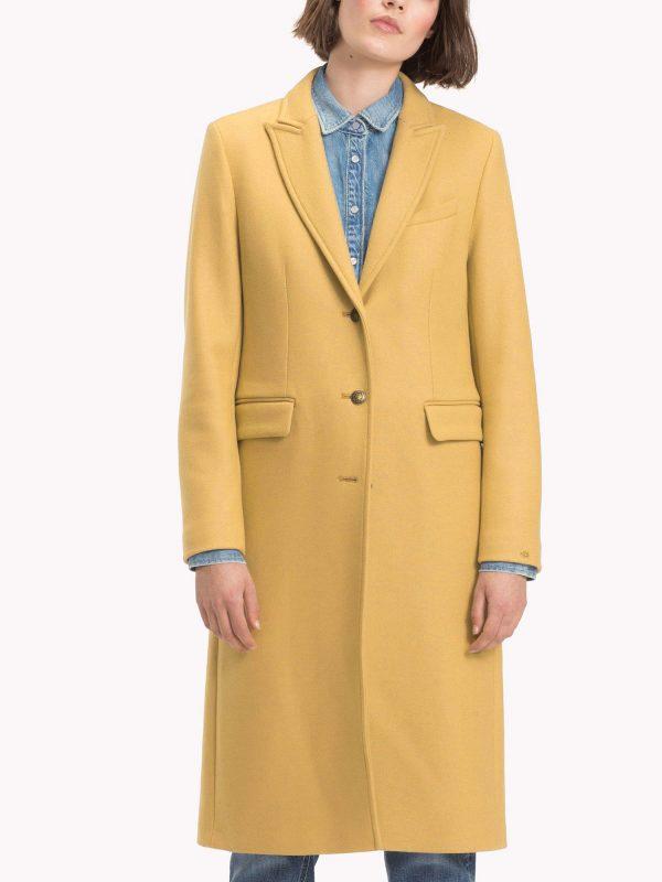women brown coat