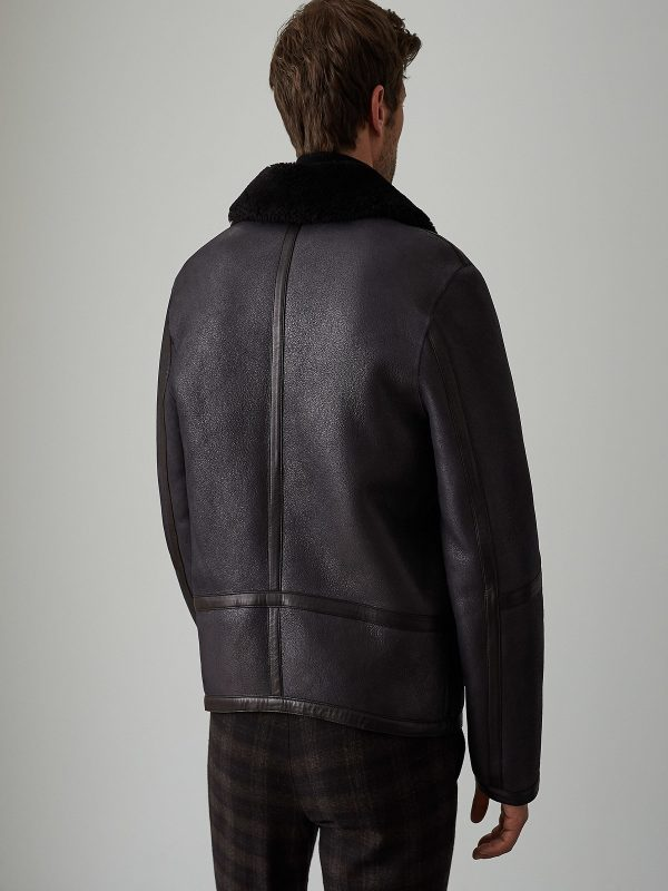 men aviator jacket