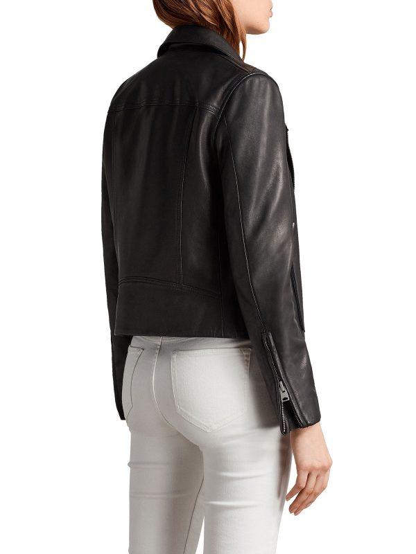 stylish women black jacket