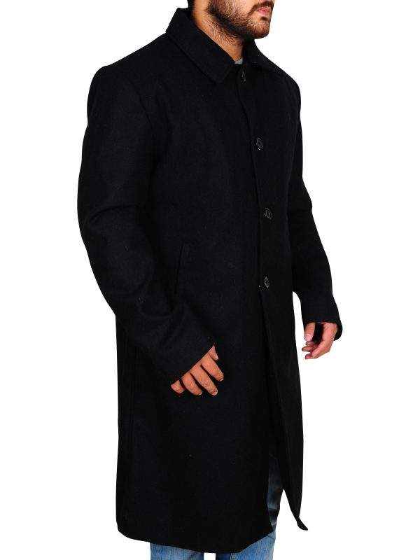 men black walker coat