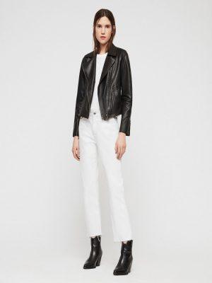 simple black jacket