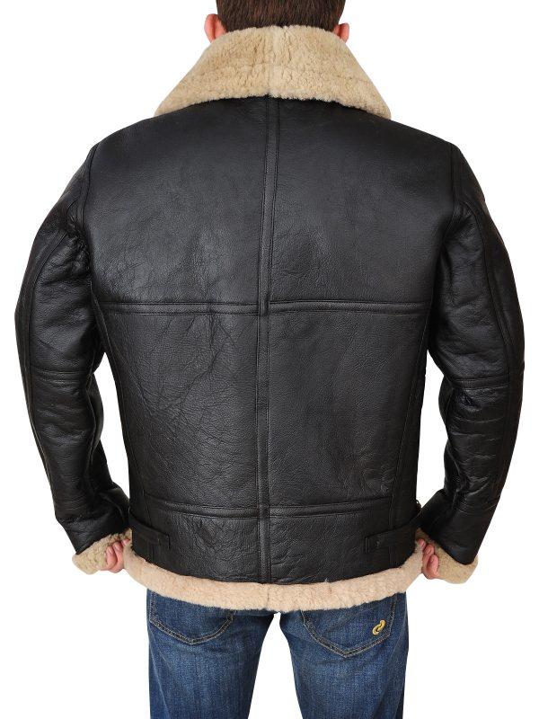 b3 bomber aviator leather jacket, men b3 bomber RAF jacket,