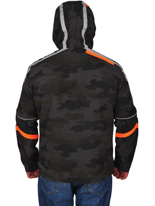 trendy camo jacket for men,