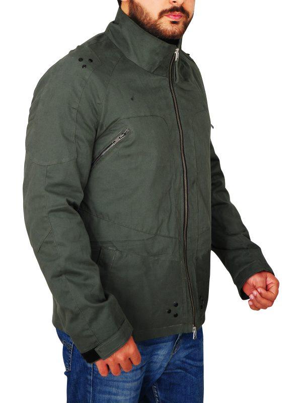 utility cotton jacket, men casual cotton jacket,