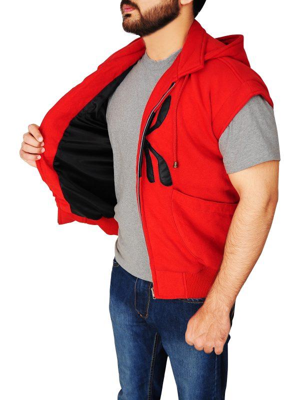 cool red spiderman hoodie, dashing red spiderman hoodie,