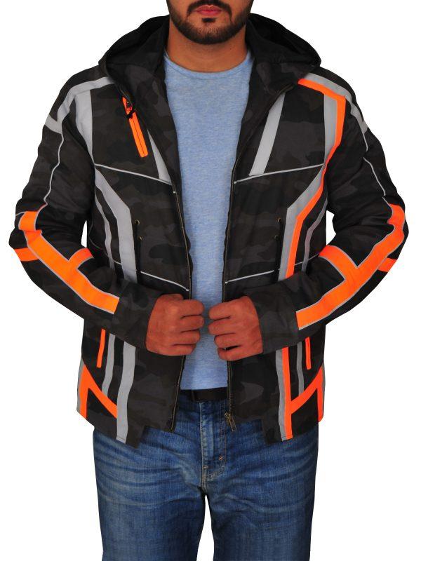 camo jacket for guys, men army camo jacket,
