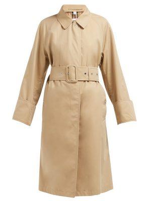 women brown cotton coat