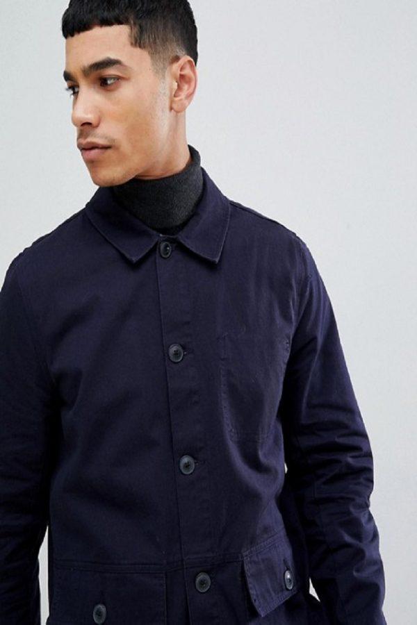 elegant men cotton jacket