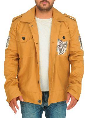 men light brown jacket