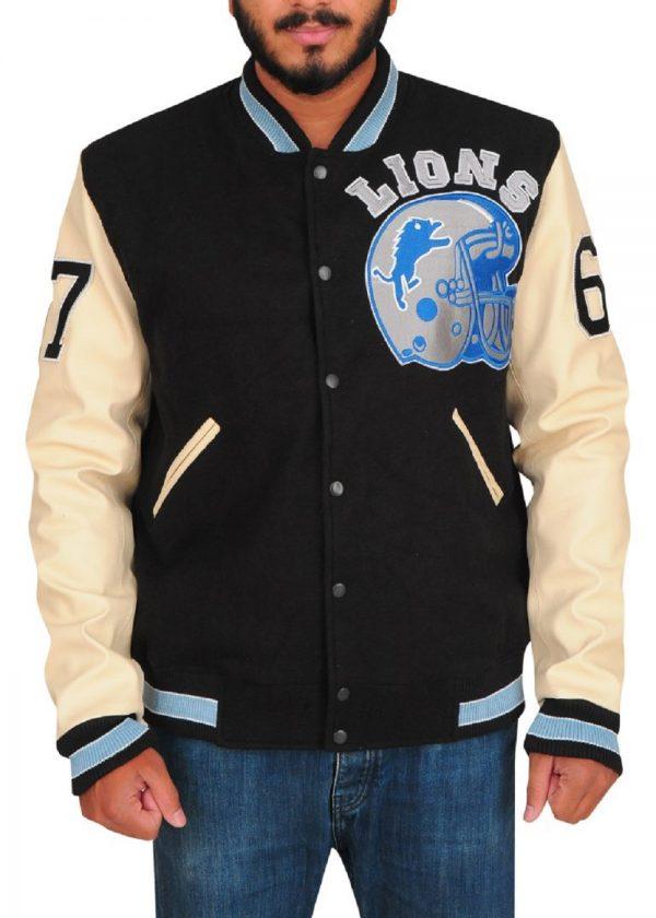 men black fleece jacket
