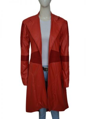 women red long trench