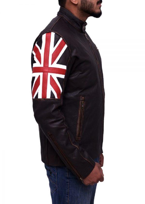 cafe racer leather jacket