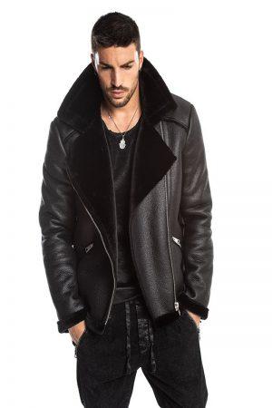 men b3 bomber leather jacket