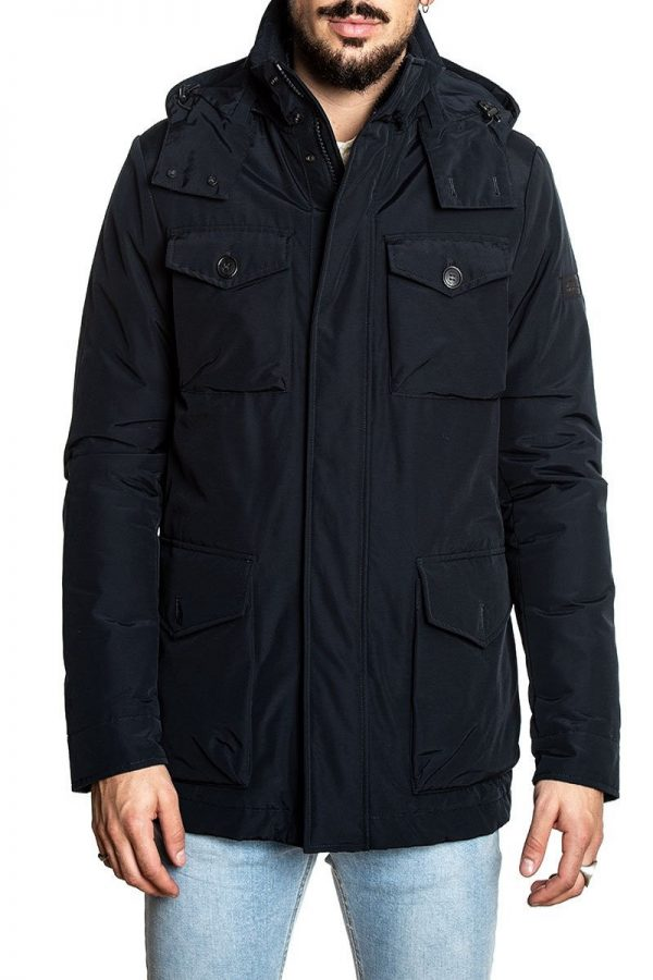 men cotton utility jacket