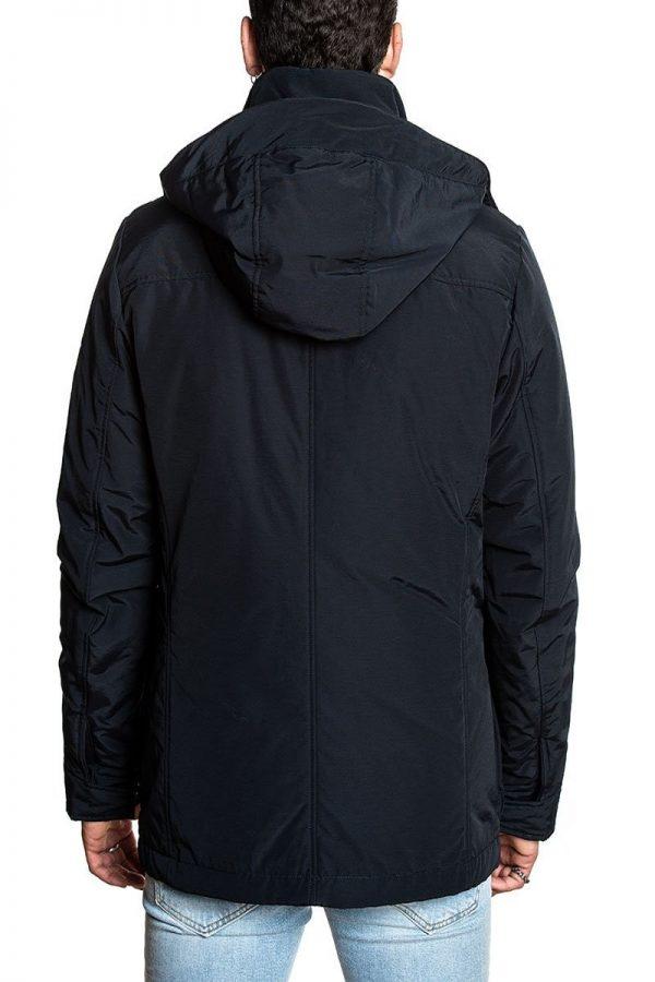 trending men black utility jacket