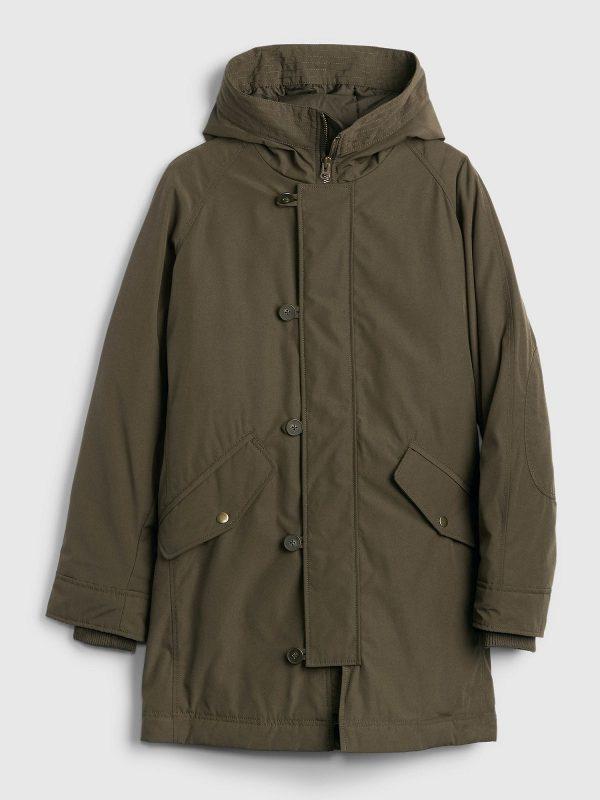 men green cotton jacket