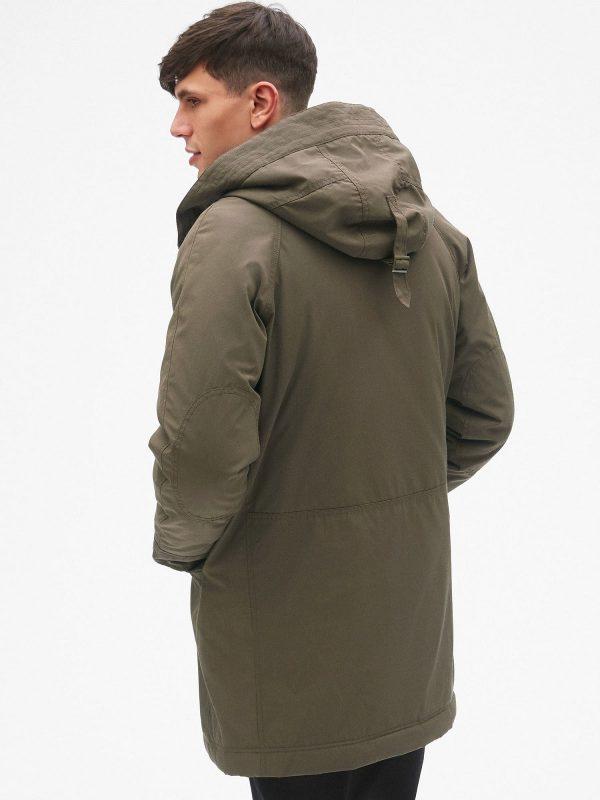 men jacket with hoodie