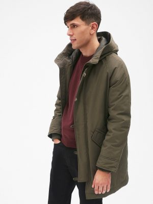 men dark green jacket