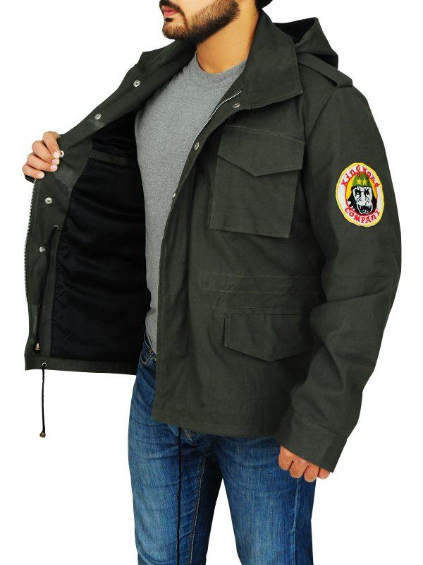 men cotton jacket, men stylish cotton jacket,