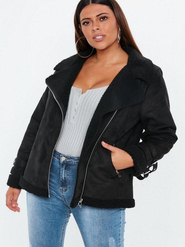 women b3 shearling jacket
