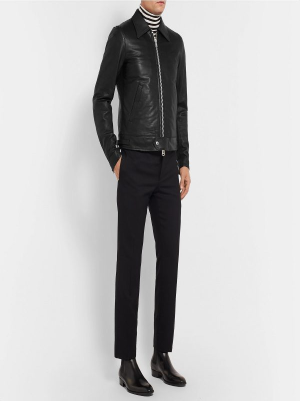 trending men leather jacket