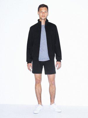 stylish black cotton jacket