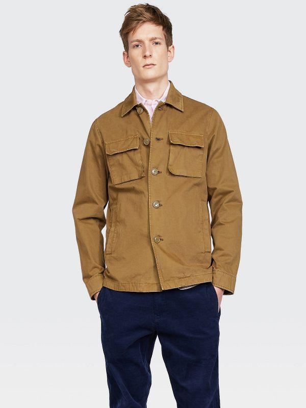 men light brown coat