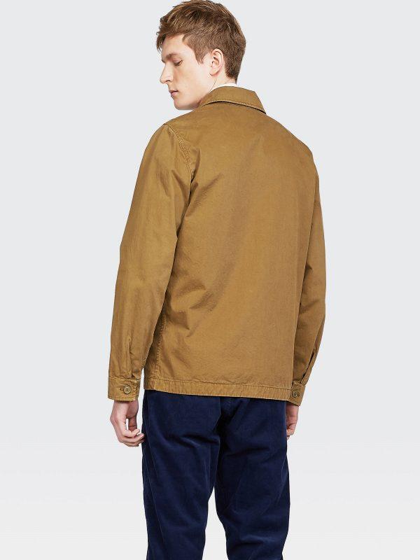 men beige brown coat