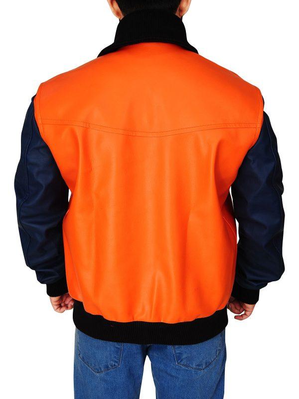 two color varsity jacket, college boys varsity jacket,