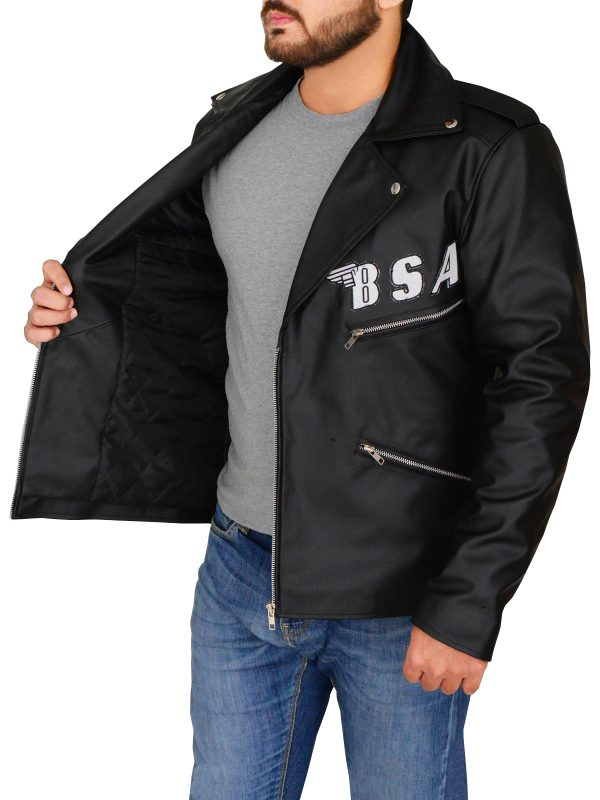 trendy black leather jacket, dashing rock leather jacket,