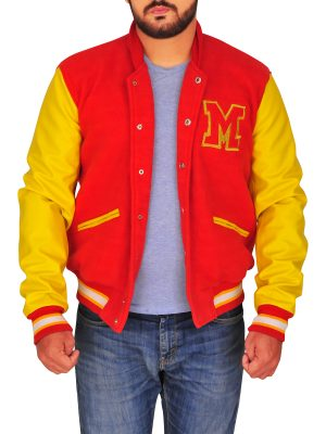 stylish men varsity jacket, street fashion varsity jacket,
