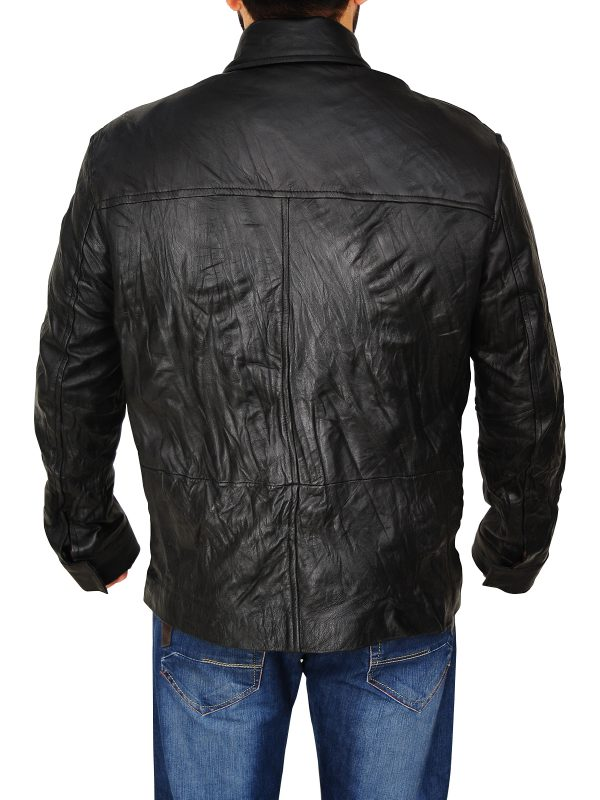 mauvetree leather jacket, mauve men leather jacket,