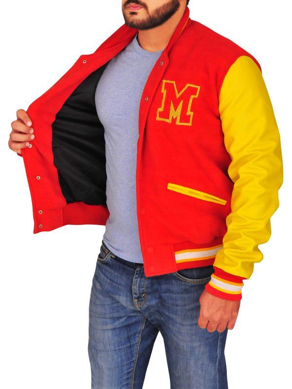 trendy varsity jacket, dashing varsity jacket,