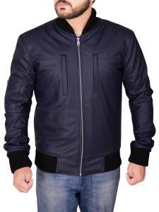 mauvetree men's varsity jacket, blue varsity jacket for men,