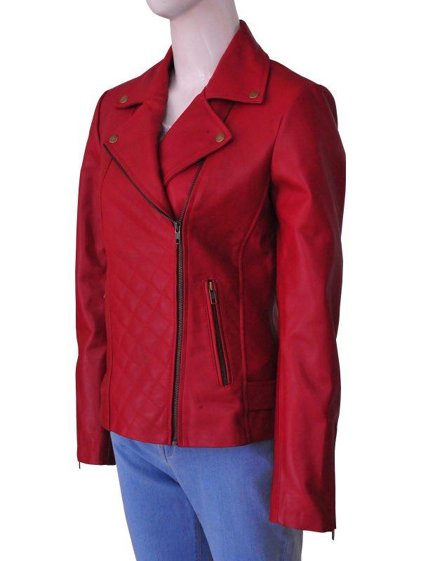 trendy biker jacket for women, trending biker leather jacket for women,