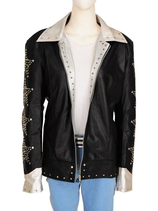 trending black women leather jacket, retro black women jacket,