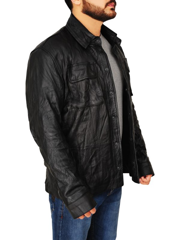 street style men leather jacket, men street style leather jacket,