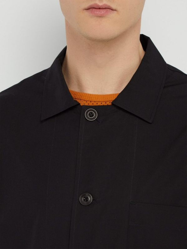 men black cotton outwear