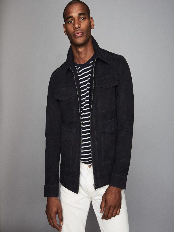 trending black cotton jacket